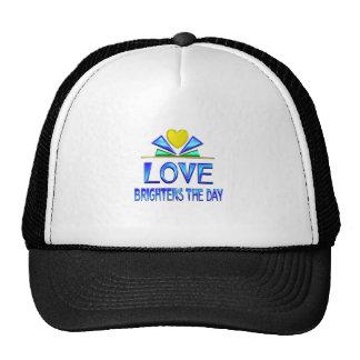 Love Brightens the Day Trucker Hat