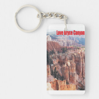 Love Bryce Canyon Key Ring