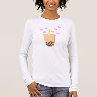 Love Bubble Tea Long Sleeve T-Shirt