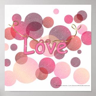 Love Bubbles Poster
