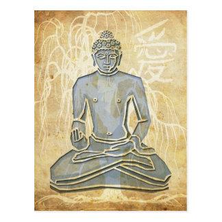 Love Buddha Post Card