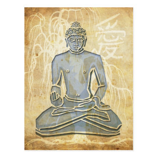 Love Buddha Postcard