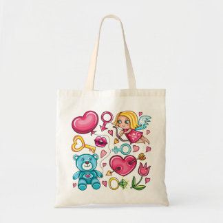 Love Budget Tote Bag