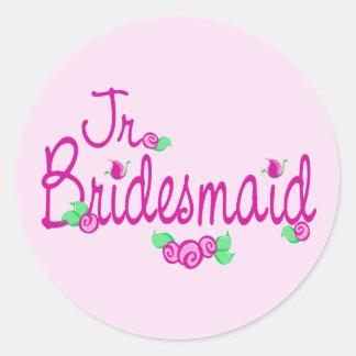 Love Buds/Wedding Round Sticker