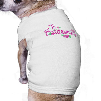 Love Buds/Wedding Sleeveless Dog Shirt