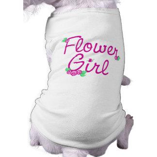 Love Buds/ Wedding Sleeveless Dog Shirt
