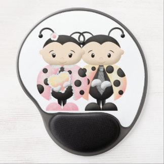 Love Bug Couple 2 - MousePad 2 Gel Mouse Pad