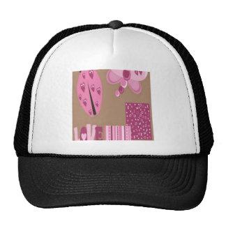 Love bug design mesh hat