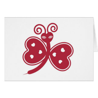 Love Bug Valentine Card © 2012 M. Martz