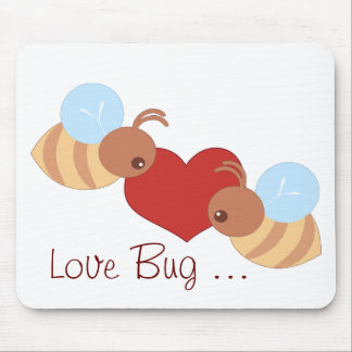 Love Bugs Mouse Pad