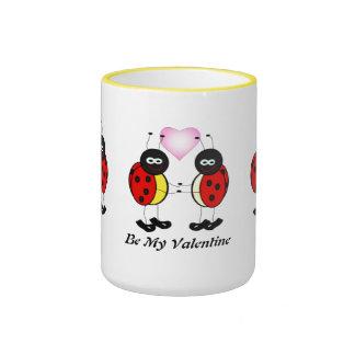 Love Bugs Ringer Mug
