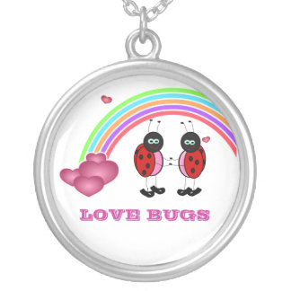 Love bugs Valentine's Day Necklace