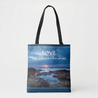 Love Builds Bridges bags