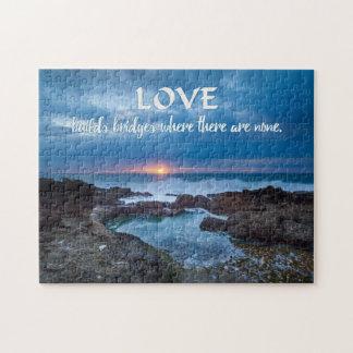 Love Builds Bridges puzzle