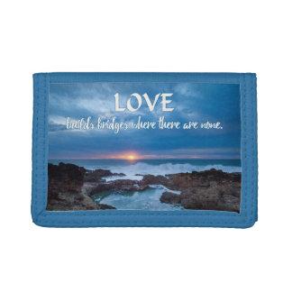 Love Builds Bridges wallets