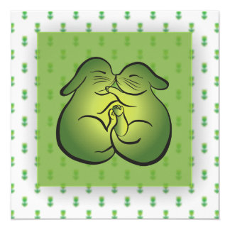 Love & Bunnies - Easter, Greeting Card