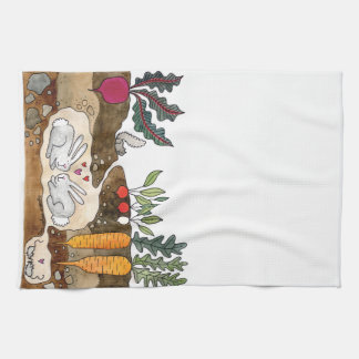 Love Bunnies Kitchen Towel