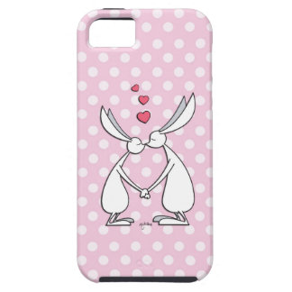 Love bunnies - pink iPhone 5 covers