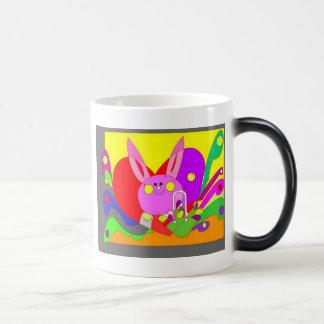 love bunny  morphing mug