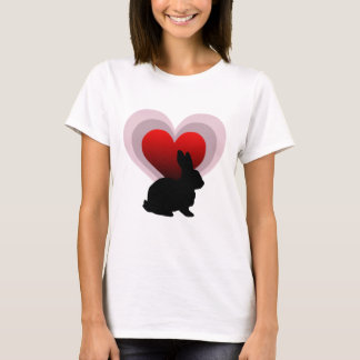 Love bunny rabbit - customisable T-Shirt