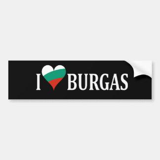 Love Burgas Patriotic Bumper Sticker