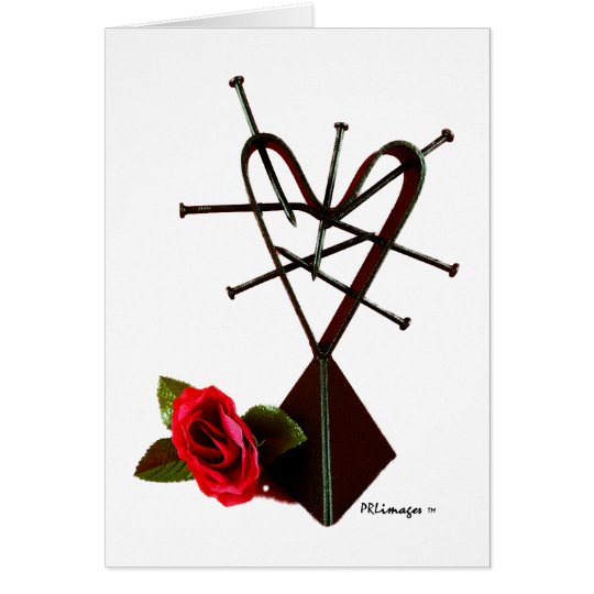 'LOVE' by A.S. Murrell Card
