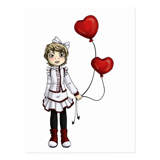 Love by a String Postcard