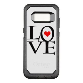 LOVE BY EKLEKTIX OtterBox COMMUTER SAMSUNG GALAXY S8 CASE