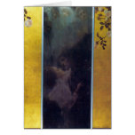 Love by Gustav Klimt Greeting Card