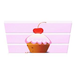 Love Cake Canvas Print