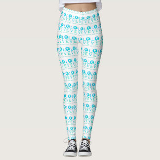 Love can bring world peace leggings