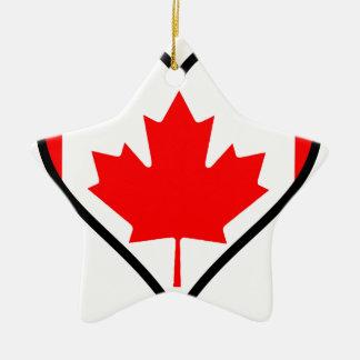 Love Canada Christmas Ornament