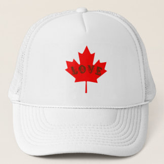 Love Canada Day maple leaf hat