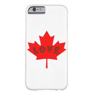 love Canada Day red maple leaf  phone case