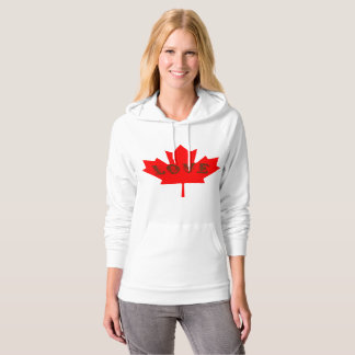 Love Canada Day red maple leaf sweater