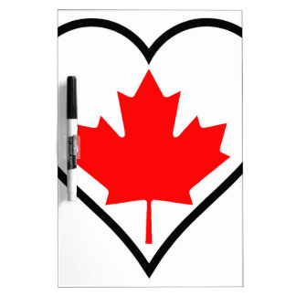 Love Canada Dry Erase Board