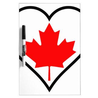 Love Canada Dry Erase Boards