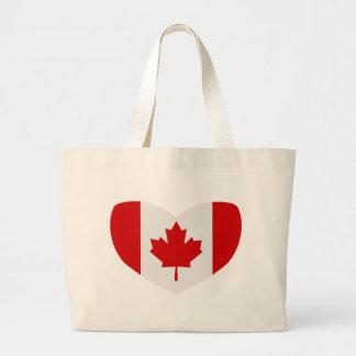 Love Canada Jumbo Tote Bag