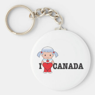 Love Canada Key Ring