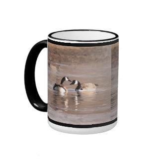 """""""Love"""" Canadian Geese Coffee Mug"""