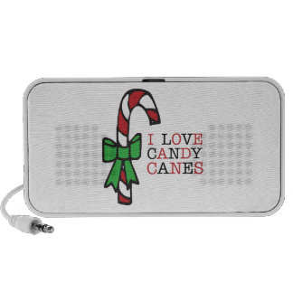 Love Candy Canes iPhone Speakers