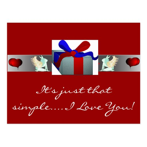 Love Cards By NotJustPictures Post Card
