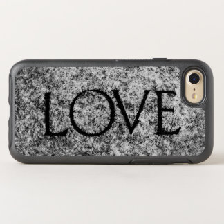 """""""Love"""" Carved Stone OtterBox Symmetry iPhone 8/7 Case"""