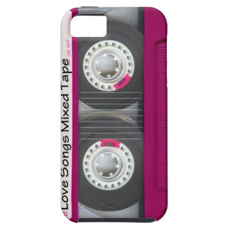 Love Cassette Tape iPhone 5 Cases