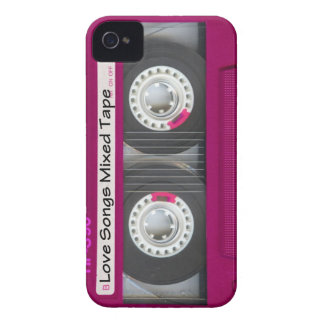 Love Cassette Tape iPhone 4 Covers