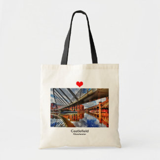 Love Castlefield Manchester Budget Tote Bag