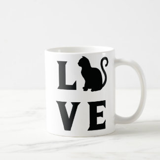 Love Cat Coffee Mug