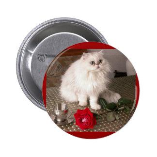 Love Cat II Button - Customizable Pinback Button