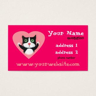 love cat profile card