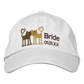 Love Cats Embroidered Baseball Cap